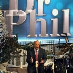Dr. Phil counsels 'the man with the golden voice' and his family.