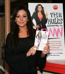 """Jenni """"JWoww"""" Farley Signs Copies Of """"The Rules According To JWoww"""""""