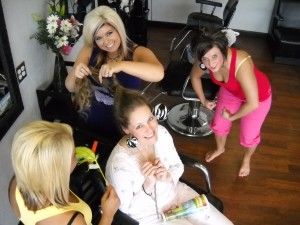Art Andrew Salon is coming to my sleepover to make us pretty!