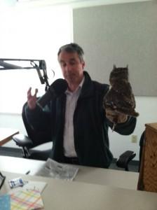 Meet Bert and the Screech Owl from John Ball Zoo!