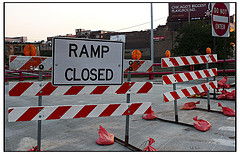 Fuller Avenue exit ramps off of I-196 are closed through Monday