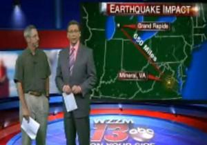 GVSU geologist explains earthquake effects felt in West Michigan.