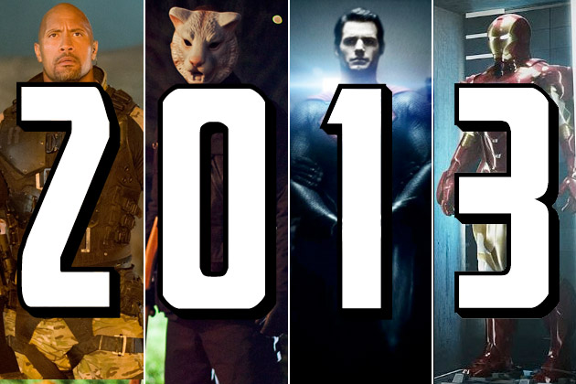Most Anticipated Movies of 2013