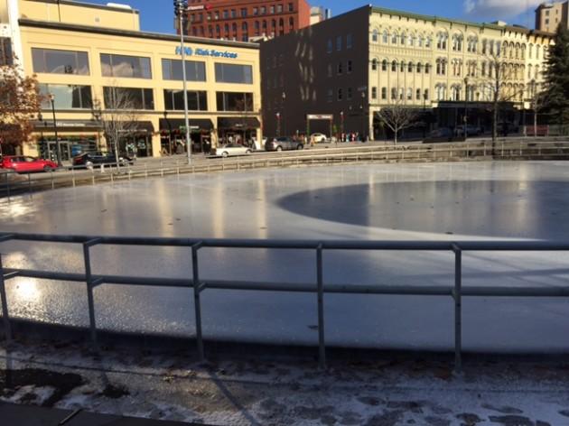 Ice Skating At Rosa Parks Circle Will Wrap Up Sunday