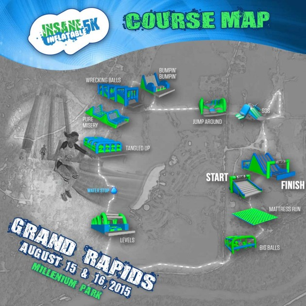 Grand Rapids 5k Inflatable Race
