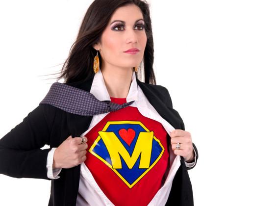 Super Mom Beautiful Female Regular Character Hero Sheds Suit